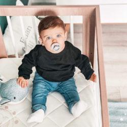 bébé sur son matelas 60x120 BIO
