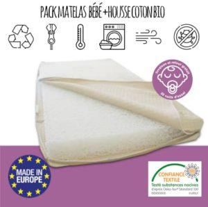 pack matelas + housse