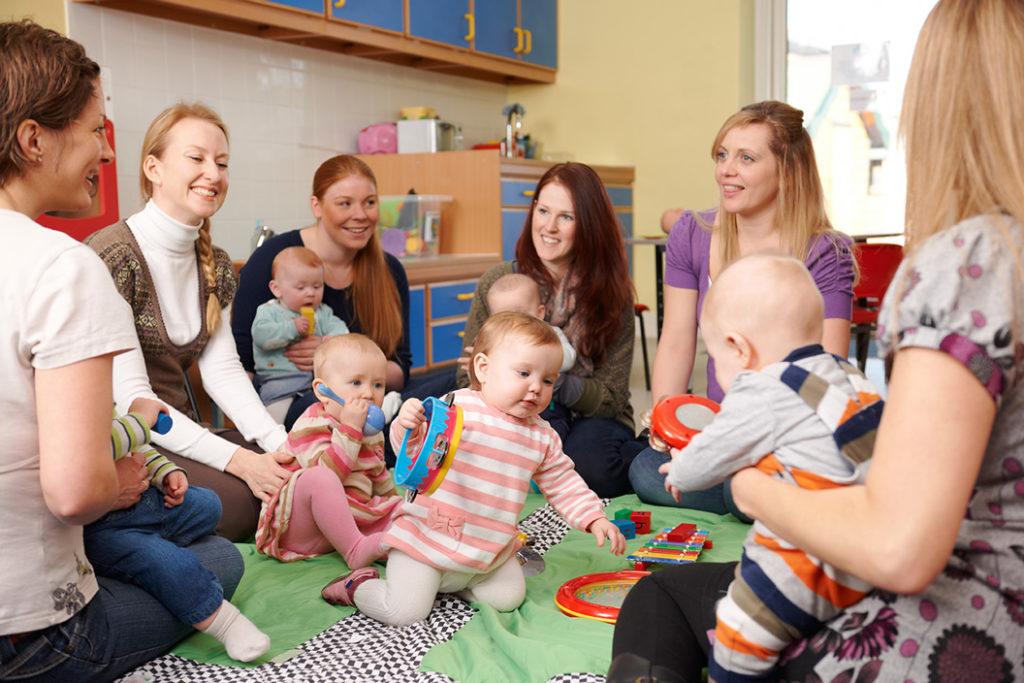 Professionnels de la petite enfance et Crèche bio et éco-responsable